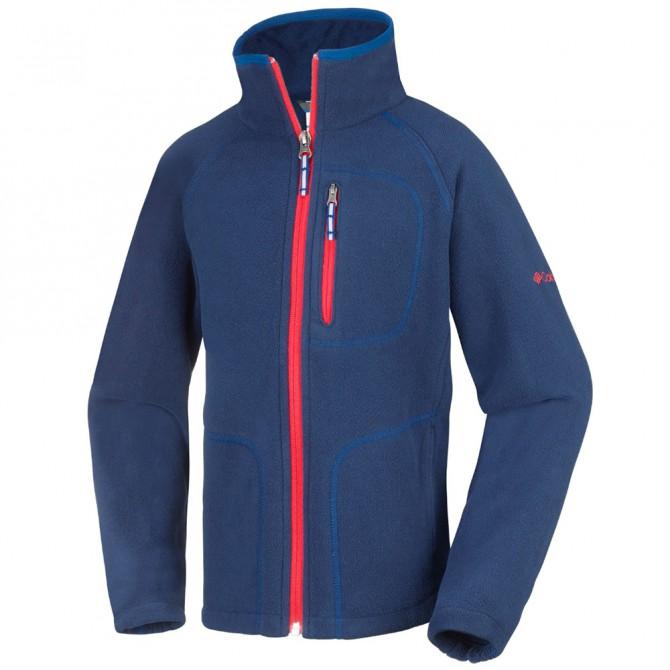 Pile Columbia Fast Trek II Bambino blu-rosso COLUMBIA Abbigliamento outdoor junior