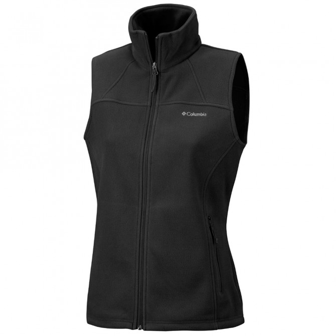 Gilet in pile Columbia Fast Trek II Donna nero