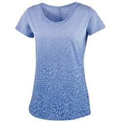 T-shirt trekking Columbia Ocean Fade Donna lilla