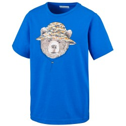T-shirt trekking Columbia Hike The Hills Bambino royal