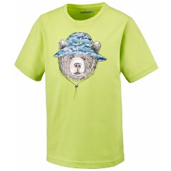 Trekking t-shirt Columbia Hike The Hills Boy lime