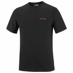 T-shirt trekking Columbia Gem Seal Hombre negro