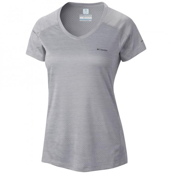 T Grigio Rules Zero Columbia Shirt Donna Trekking lucFJK3T1