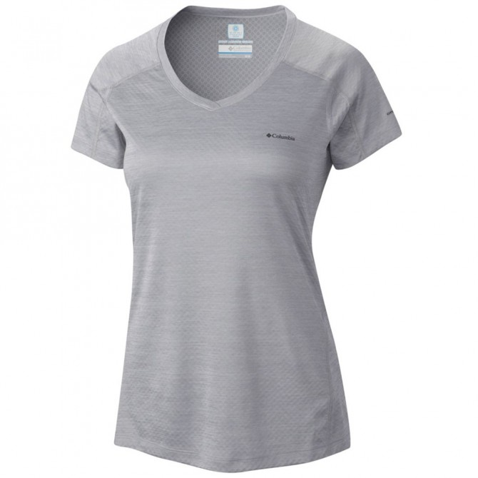 Trekking t-shirt Columbia Zero Rules Woman grey