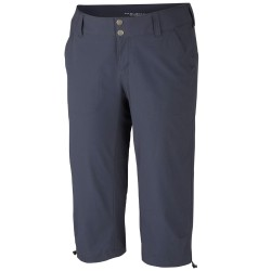 Pantalones trekking Columbia Saturday Trail II Mujer gris