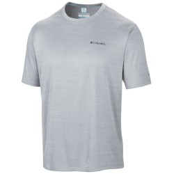 T-shirt trekking Columbia Zero Rules Homme gris