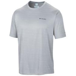 T-shirt trekking Columbia Zero Rules Uomo grigio