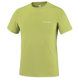 T-shirt trekking Columbia Zero Rules Homme vert