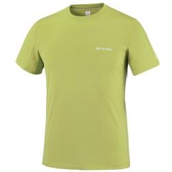 T-shirt trekking Columbia Zero Rules Uomo verde
