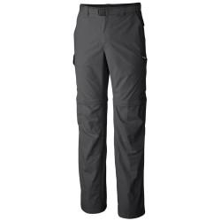 Pantalones trekking Columbia Silver Ridge Hombre gris oscuro