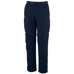 Pantalones trekking Columbia Silver Ridge Hombre azul