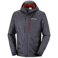 Rain jacket Columbia Pouring Adventure II Man grey