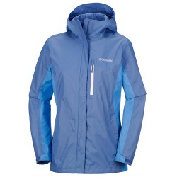 Rain jacket Columbia Pouring Adventure II Woman lilac