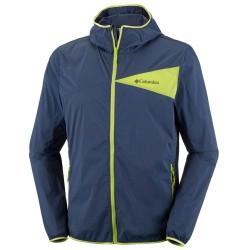 Wind jacket Columbia Addison Park Man blue