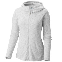 Sweat-shirt trekking Columbia Outerspaced Femme blanc