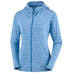 Trekking sweatshirt Columbia Outerspaced Woman light blue