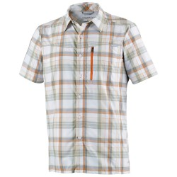 Camisa trekking Columbia Silver Ridge Hombre gris-naranja