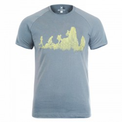 T-shirt trekking Montura Sporty Uomo grigio