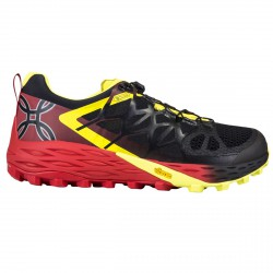 Trail running shoes Montura Beep Beep Man black-red