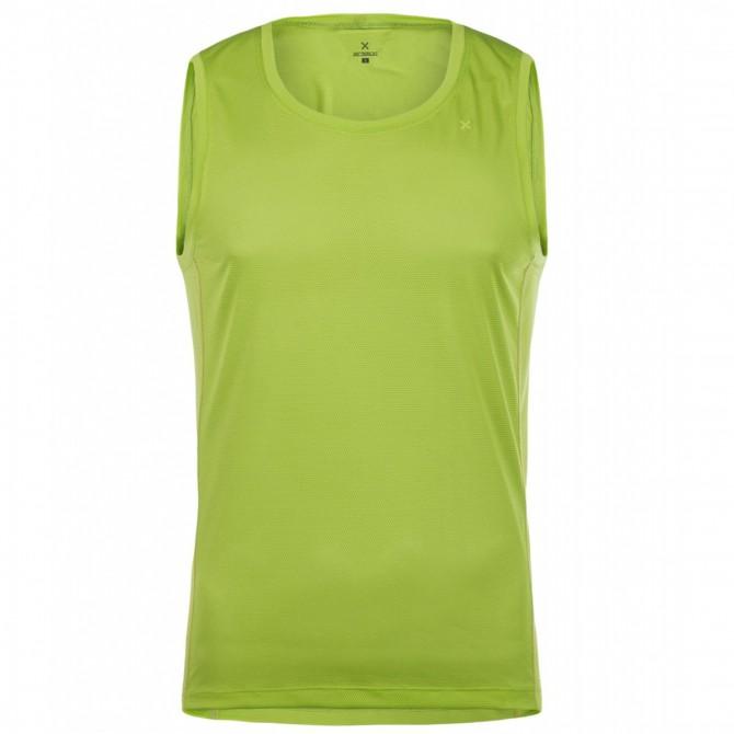 Camiseta trekking Montura Soft Light Hombre verde ácido