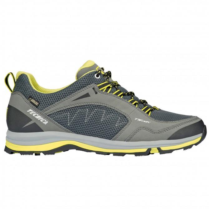 Zapatos trekking Tecnica T-Walk Low Syn Gtx Hombre gris