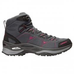 Chaussures trekking Lowa Ferrox Gtx Mid Femme gris