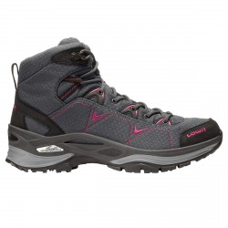 Trekking shoes Lowa Ferrox Gtx Mid Woman grey