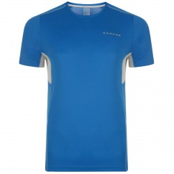 T-shirt running Dare 2b Unified Uomo royal