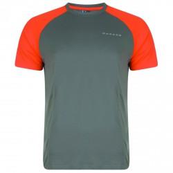 T-shirt running Dare 2b Undermine Hombre gris