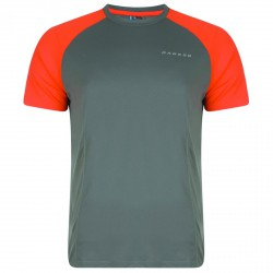 T-shirt running Dare 2b Undermine Uomo grigio