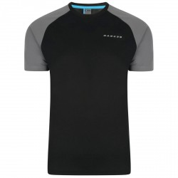 T-shirt running Dare 2b Undermine Uomo nero