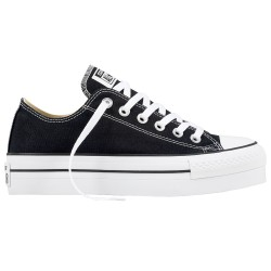 Sneakers Converse All Star Platform Chuck Taylor Mujer negro