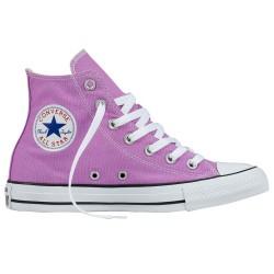 Scarpe Converse All Star Hi Canvas seasonal rosa-bianco