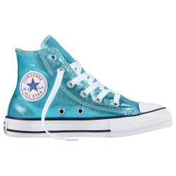 Sneakers Converse All Star Chuck Taylor Metallic Girl turchese