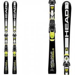 ski Head WC Rebels Slx Pr+ bindings Freeflex Pr 11