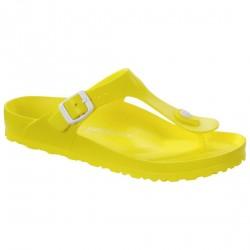 Chancletas Birkenstock Gizeh Eva Mujer amarillo