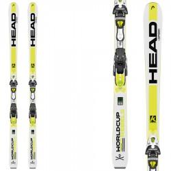 ski Head Wc Rebel iSpeed Sw + fixations Freeflex Pro 14