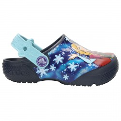 Zueco Crocs Fun Lab Frozen Niña