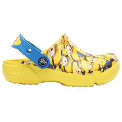 Zueco Crocs Fun Lab Minions Niño