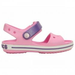 Sandalias Crocs Crocband Niña rosa-violeta