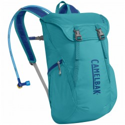 Backpack + bottle Camelbak Arete 18 turquoise