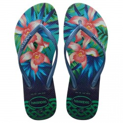 Flip-flop Havaianas Slim Tropical Woman green