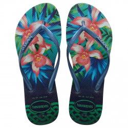 Tongs Havaianas Slim Tropical Femme vert