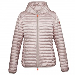 Down jacket Save the Duck D3362W-GIGA4 Woman powder pink
