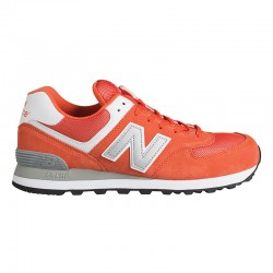 chaussures New Balance Classic 574 homme orange