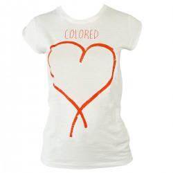 t-shirt Colored Revolution Love Donna