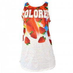 t-shirt Colored Revolution fresas mujer