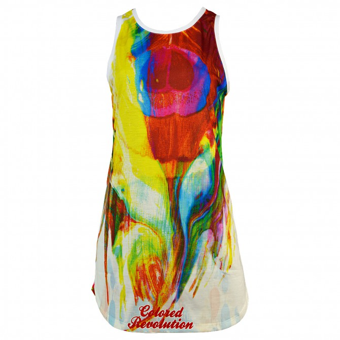 t-shirt Colored Revolution Plume Donna