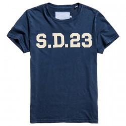 T-shirt Superdry Solo Sport Homme bleu