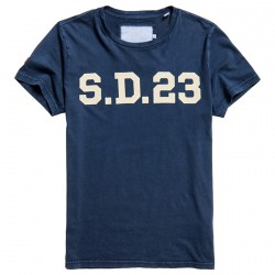 T-shirt Superdry Solo Sport Uomo blu